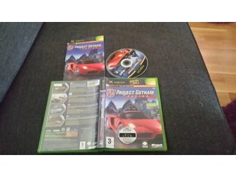 Project Gotham Racing 2 med manual till xbox.