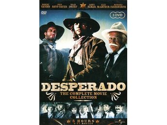 Desperado - The Complete Movie Collection(3-disc)Robert Vaughn, John Rhys-Davies