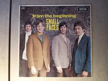 SMALL FACES/ FROM THE BEGINNING  UK 1 PRESS