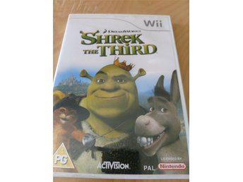 Wii-spel - Shrek THE Third