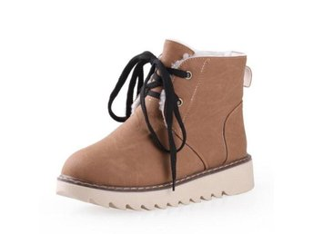 Dam Boots Shoes Women Snow Botas Woman Footwear khaki 36