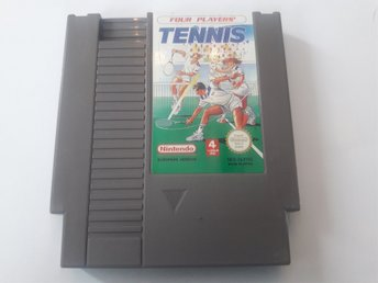 Four Players Tennis NES PAL