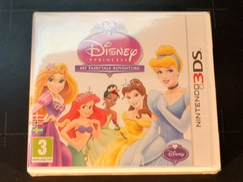 Disney Princesses + Lego  3DS, Nya/Oöppnade