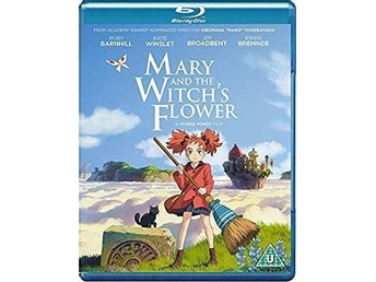 Mary and the Witch's Flower (Mary och häxans blomma) 2017 103 Min Engtxt Blu-ray