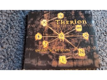 Therion Secrets of the runes CD digipack