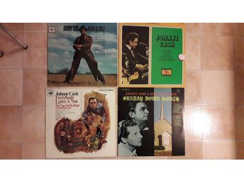 JOHNNY CASH Jerry Lee Lewis -LP 4st - Mean as hell! EVERYBODY LOVES NUT Sunday