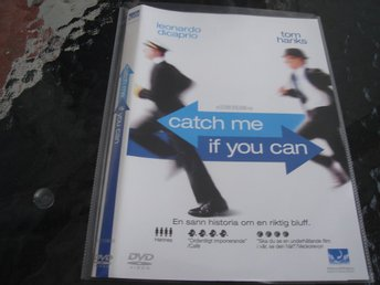DVD-CATCH ME IF YOU CAN *Leonardo DiCaprio, Tom Hanks*