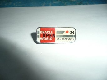 Pins / Nålar Oracle San Francisco