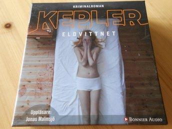 Eldvittnet, Lars Kepler, Ljudbok.
