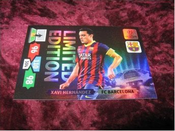 XAVI HERNANDEZ-BARCELONA-LIMITED EDITION-CHAMPIONS LEAGUE 2013/2014