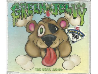 GREEN JELLY - THE BEAR SONG  ( CD SINGLE )