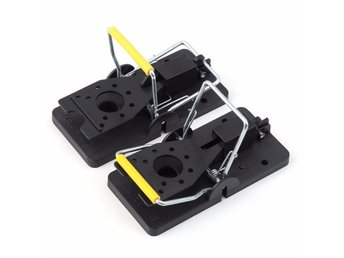 2st Råttfällor Rat Trap Heavy Duty Snap-E Mouse Trap-Easy Set