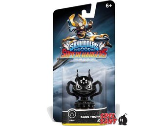 Skylanders Superchargers Kaos Throphy