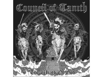 Council Of Tanith -The Wrath Of God LP Doom metal ltd 500