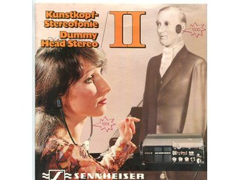 "Sennheiser -Dummy Head Stereo II 7"" demonstration vinyl 1974"