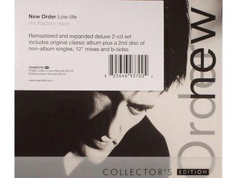 New Order - Low-life. Collectrors limited Edition 2CD. Remastered. Kanonljud!