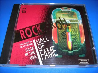 ROCK AND ROLL - hall of fame - purple,berry,chicago,tina(cd)