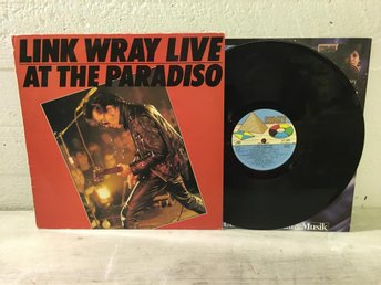 Link Wray - Live At The Paradiso Swe Orig-80 EX !!!!!