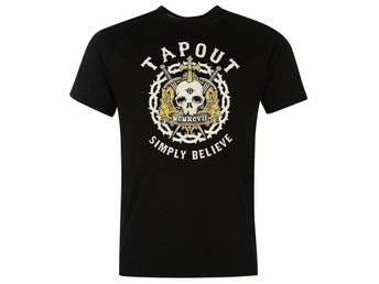 MMA Tapout Print T-shirt Herr MEDIUM