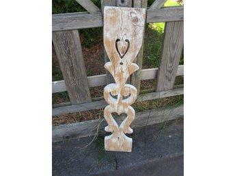 äldre rustika trädelar,pinnar mm shabby chic lant - Virserum - äldre rustika trädelar,pinnar mm shabby chic lant - Virserum