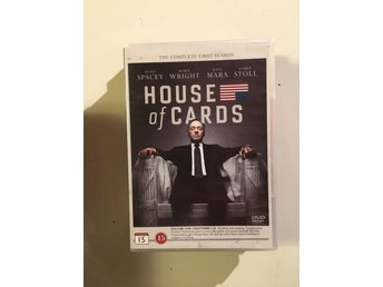 House of cards säsong 1/ 4 disc - Vittaryd - House of cards säsong 1/ 4 disc - Vittaryd
