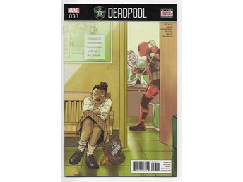 Deadpool Volume 4 # 33 NM Ny Import
