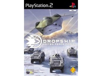 Dropship - United Peace Force - Playstation 2 PS2