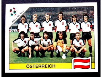 PANINIs  STICKERS - ITALY 90 -   OSTERREICH   team.