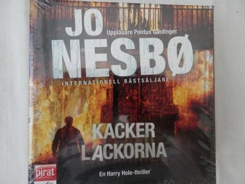 CD-bok. Kackerlackorna av Jo Nesbö. NY och inplastad CD plus MP3!!