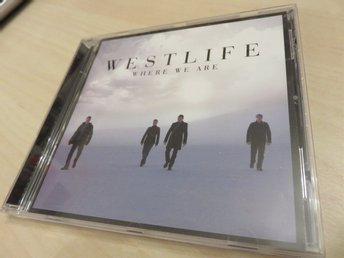 WHERE WE ARE - WESTLIFE -  CD 2009