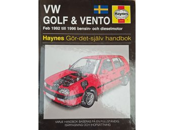 VW Golf & Vento 1992-1996 - Hayens Reparationshandbok
