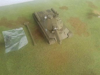 Dust Tactics / 1947 - SSU Super-Heavy Tank (Karl, Lavrentiy)