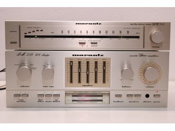 Marantz PM510DC Stereo Integrated Amplifier (1981-82)