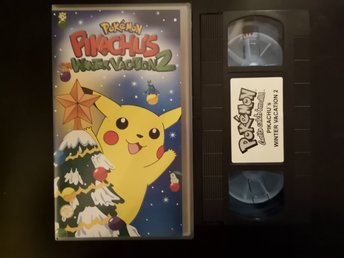 POKÉMON PIKACHUS WINTER VACATION 2 VHS svensk tal