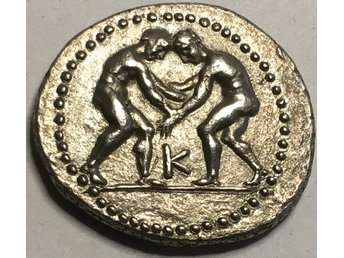 Grekland, Pisidia Selge ca 325-250 f.Kr. Silverstater - EXCEPTIONELL KVALITET