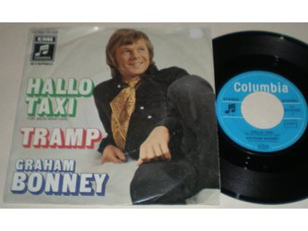 Graham Bonney 45/PS Hallo Taxi 1970