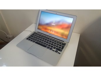 Macbook air 11 tum intel core i7 , 121 gb ssd , 4gb ram, 35 cykelantal ,utan fel