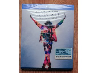 Bluray film - This is it - OÖPPNAD!