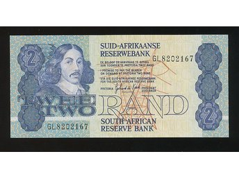 South Africa 2 Rand UNC se bild