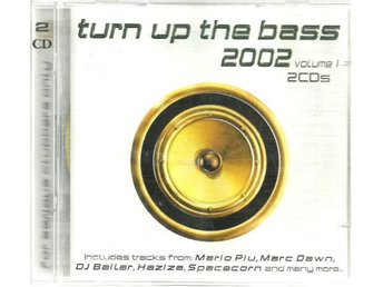 TURN UP THE BASS 2002 - VOLUME 1 - 2CD