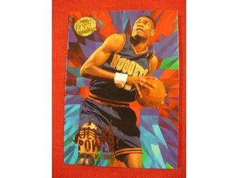 DIKEMBE MUTOMBO - FLEER ULTRA 1995-96 ULTRA POWER GOLD MEDALLION - BASKET
