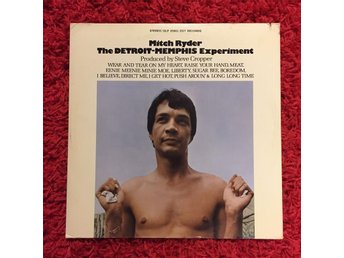 MITCH RYDER DETROIT MEMPHIS EXPERIMENT 1969 BOOKER T & THE MG'S STEVE CROPPER