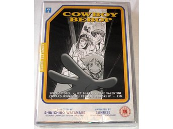 Cowboy Bebop - Complete Collection (6-disc) (Anime) **NY** - Bollnäs - Cowboy Bebop - Complete Collection (6-disc) (Anime) **NY** - Bollnäs
