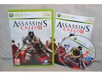Assassins Creed II 2 Xbox 360 Komplett Nyskick - Hässleholm - Assassins Creed II 2 Xbox 360 Komplett Nyskick - Hässleholm