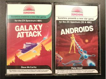Androids + Galaxy Attack till Spectrum | Sunshine
