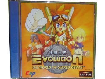 EVOLUTION THE WORLD OF SACRED DEVICE DREAMCAST