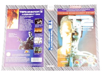 T2 Terminator 2 Judgment Day (Original YAPON Rental Cover Paper) -