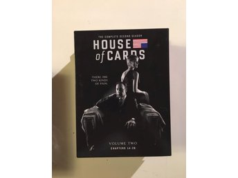 House of cards säsong 2/ 4 disc - Vittaryd - House of cards säsong 2/ 4 disc - Vittaryd