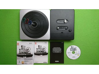 DJ Hero 2 med Turntable Nintendo Wii