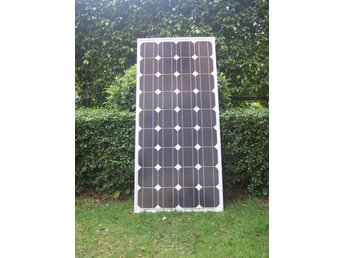 Solpanel Solcell Solfångare 100W *NY A Grade Monocrystalline